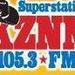Results Radio 105.3 FM - KZNN Logo