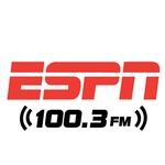 ESPN 100.3 - KLRZ Logo