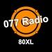 077Radio - 80XL Logo