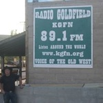 Radio Goldfield - KGFN Logo