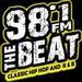 98.1 The Beat - WLOR Logo