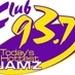Club 93.7 - WRCL Logo