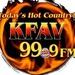 KFAV 99.9 FM - KFAV Logo