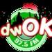 97.5 OK FM - DWOK Logo