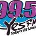 99.5 Yes FM - WYSS Logo