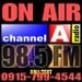 Channel A Radio 98.5 Logo