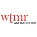 WTMR AM Radio 800 - WTMR Logo