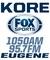 Fox Sports Eugene - KORE Logo