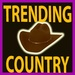Trending Country Logo