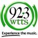 92.3 WTTS - WTTS Logo