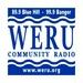 Community Radiio WERU FM - WERU-FM Logo