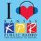 Kansas Public Radio - KANV Logo