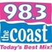 98.3 The Coast - WCXT Logo