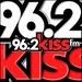 Kiss FM Jember 96.2 Logo