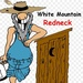 White Mountain Redneck Logo