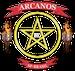 Arcanos Web Rock Logo