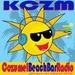 CozumelRadio (KCZM) Logo