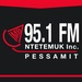 Radio Ntetemuk - CIMB 95,1 FM Pessamit Logo
