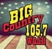 Big Country 105.7 - WQAH-FM Logo