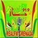 Real FM Grenada 91.9 Logo
