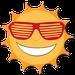 Sunny Radio - KZOY Logo