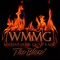 WMMG - The Blaze Logo
