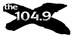 The X 104.9 - KXNA Logo