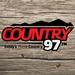 Country 97 FM - CJCI-FM Logo