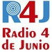 Radio 4 de Junio (R4J) Logo