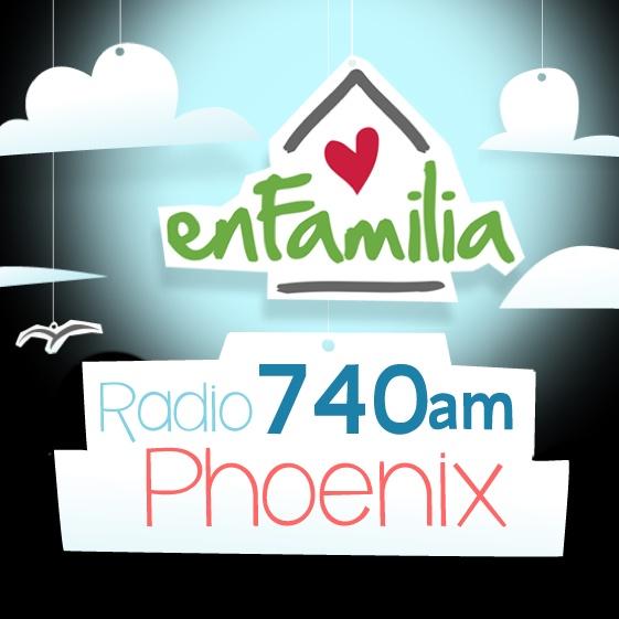 EnFamilia Radio 740 AM Phoenix - KIDR