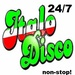 Italo Disco Radio Logo