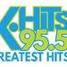 95.5 K-Hits - KOME-FM Logo