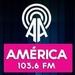 Radio América 103.6 FM Logo
