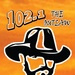 102.1 The Outlaw - WAUC Logo