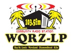 Katrina Radio Station - WQRZ-LP Logo
