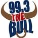 99.3 The Bull - WQDK Logo