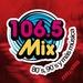 106.5 Mix - XHDFM Logo