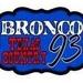 Bronco KXFS 93.7 Logo