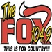 104.9 The Fox - KDXY Logo