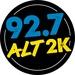 92.7 ALT 2K - WVZA Logo