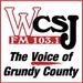 WCSJ FM Logo