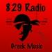 829 Radio Greek Logo