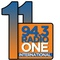 94.3 Radio One Logo