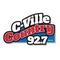 C-Ville Country 92.7 - WCVL-FM Logo