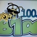 B100 - WQXB Logo