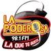 La Poderosa - XEKZ Logo