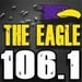 106.1 The Eagle - WPTN Logo