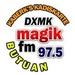 97.5 Magik FM Butuan - DXMK Logo