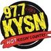 Kissin' 97.7 - KYSN Logo