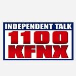 Independent Talk 1100 - KFNX Logo